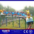 Alibaba fr! Parque de atracciones paseo mini montaña rusa del parque de atracciones de juego dragon tobogán para los niños