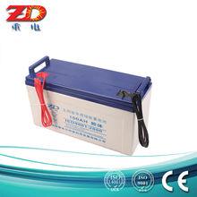 12v battery price 100AH solar battery for off -grid system .