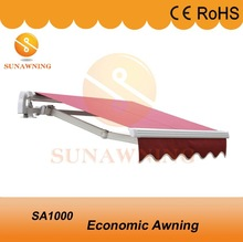 Retractable Aluminum Frame Stand Awning