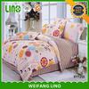 House used round crib bedding/cotton world bedding set/rainbow color bedding sets