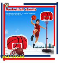 Portable Adjustable Kids Basketball Play Set toys with stands wholesale in China