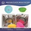 Taizhou OEM high quality household plastic bathroom washing basin mould supplier,injection bathroom wash basin mold manufacturer