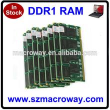 Ram ddr1 2gb sodimm 1GB 256 MB 512MB