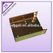 High quality yellow zinc sheet metal part