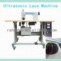 de encaje de ultrasonidos máquina de coser por ultrasonidos máquina de coser por ultrasonidos del cordón de la máquina que hace de la cinta del bordado mantel