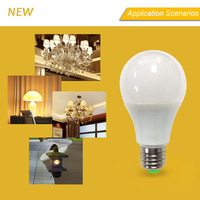 high brightness designer led bulb light 9w e27 base 5w led bulb equals to 25w incandescent lamp
