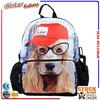 BBP106S 3D dog pattern kids cheap school bags kids animal backpack