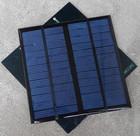 Mini epoxy panel 3w 12V solar panel 145*145mm Poly/mono small epoxy resin solar panel frameless with low price