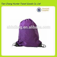 high quality waterproof leisure blank drawstring bag