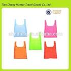 wholesale tote nylon foldable pouch nylon foldable shopping bag (Model H3266)