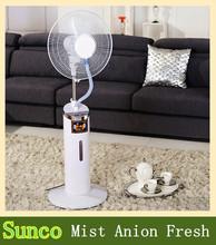 Hot Sale mini handheld water spray fan outdoor water mist fans for promotion charger fan price