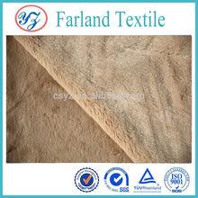 Velboa fabric , solid double -sided , super soft ,fabric machine