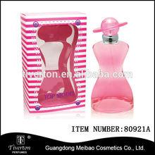 Body shape bottle Women Floral Eau De Parfum