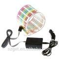 colorido flash etiqueta do carro do ritmo da música levou el lâmpada de luz equalizador de som ativadas