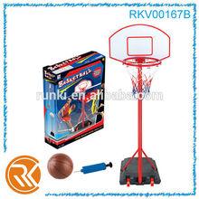 Toy basketball hoop, plastic basketball backboard