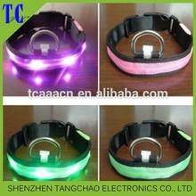 Hot sale Led collars for dog and cat, Safety led dog collars, LED dog leashes