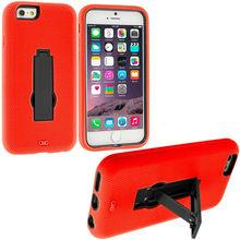 Hybrid Heavy Duty Hard/Soft Hybrid Case for Apple iPhone 6 4.7 inch