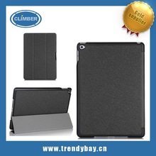 High Quality Leather smart cover Case For Ipad Air 2 with Sleep Wake