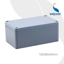 SAIP High Quality IP67 Customized Diecast Aluminum Enclosure 120*80*55mm