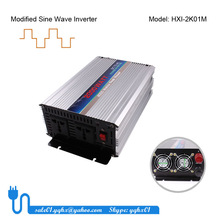 2000w intelligent dc/ac china frequency cup power inverter with solar panel