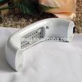 9w portable uv/diodo emissor de luz da lâmpada gel nail polonês secador máquina manicure branco, tanto para uso doméstico