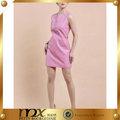 el sexo las mujeres rosa de mezclilla de color patrón de la falda