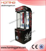 Newest prize game machine,gift catching game machine/supermarket gift machine stacker prize game machine