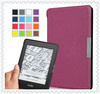 Smart Magnet clasp stand PU Leather Book Case Cover For Amazon Kindle Paperwhite cover case