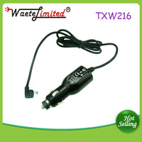 Custom Logo 1.5M cable 9V 2A right jack USB car charger