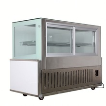 New Style k16 refrigerated display case of cakes