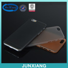 Ultra thin matte tpu case for iphone 6 various color high quality