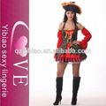 venta al por mayor sexy halloween de piratas del caribe el traje