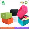 Decorative Collapsible Oxford Fabric Storage Box/non-woven foldable storage box