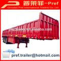 Essieux 3 50 tonnes. côté haute pierres- tractèe/ordinaire semi trailer pour la vente