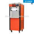Donper torção gêmeas Gravity Feed macio máquina de sorvete D535