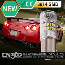 hight power DC12V-24V 3014 SMD 1156 led car light for brake light