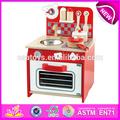 Nueva promoción de madera de juguete de la cocina, Inteligente de madera juguete de la cocina conjunto con certificado EN71 W10C093