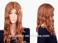 Pedaços de cabelo sintético, rabo de cavalo de cabelo no preço de fábrica peluca perruque perucke