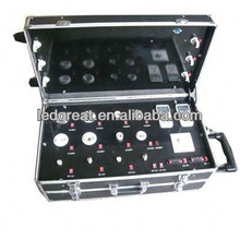 3 layer led bulb light aluminium show case hot sale multi-function led demo case made in china