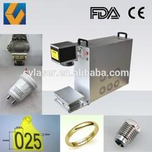 X Y deflector mirror 10w 20w 30w fiber laser marking machine for sale
