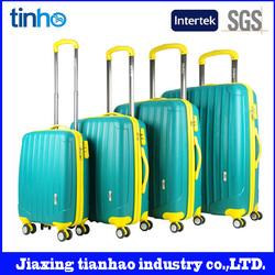 High quality polypropylene cartoon characters luggage