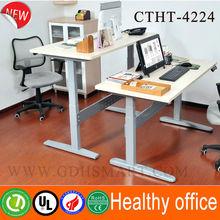 Modern design stand up desk adjustable height metal table automatic adjustable desk