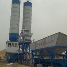 HZS75 precast concrete batching plant
