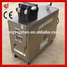 CE 18 bar mobile vapor diesel steam car wash/steam container washer