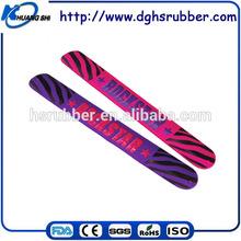 Pop desugn factory price customized Silicone Rubber Bangle