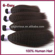 7A Grade Virgin brazilian 100 Human Hair Afro Kinky Straight Hair Weave Brands