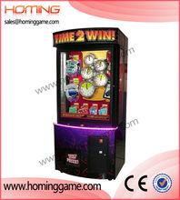 Hot sales Time 2 Win prize macnine,Time 2 Win arcade amusement 2014 game machine