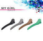 MY GIRL Cheapest Duckbill Clip With Plastic Teeth Top Quality Hair Clips With Spring Clip