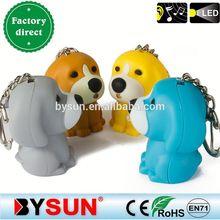 2014 Pekingese animal sound key ring 4 colors