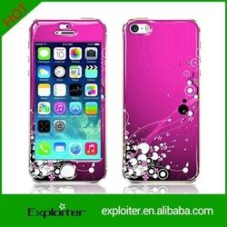 High quality custom decorative cell phone skin for i phone5 hard skins